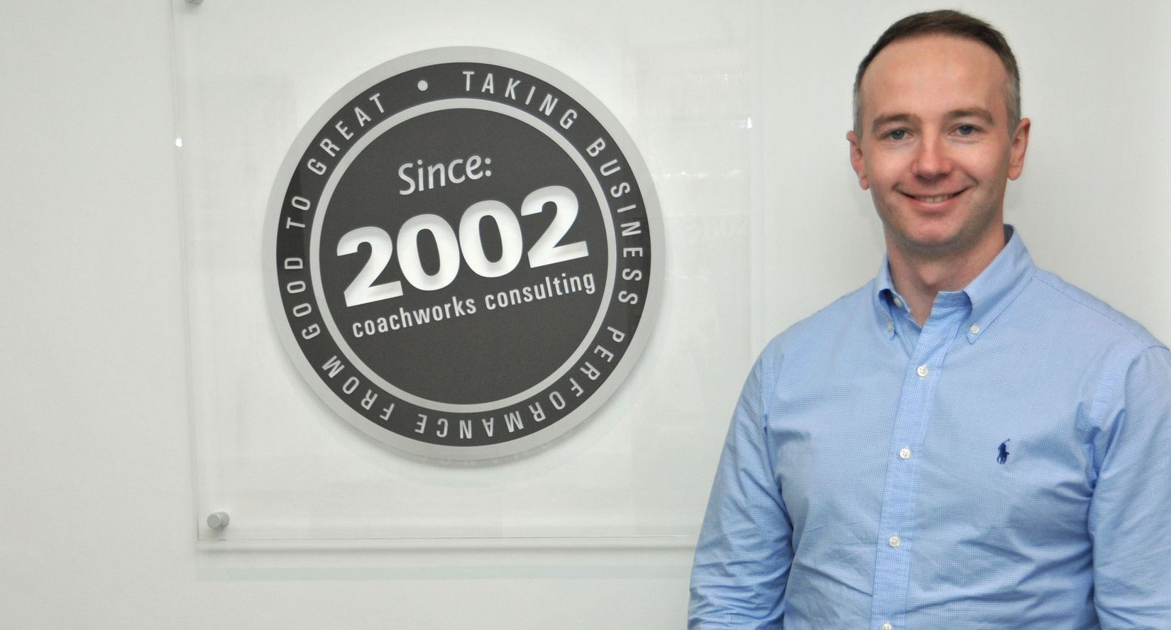 Martin Riddell promoted to Account Director at Coachworks Consulting