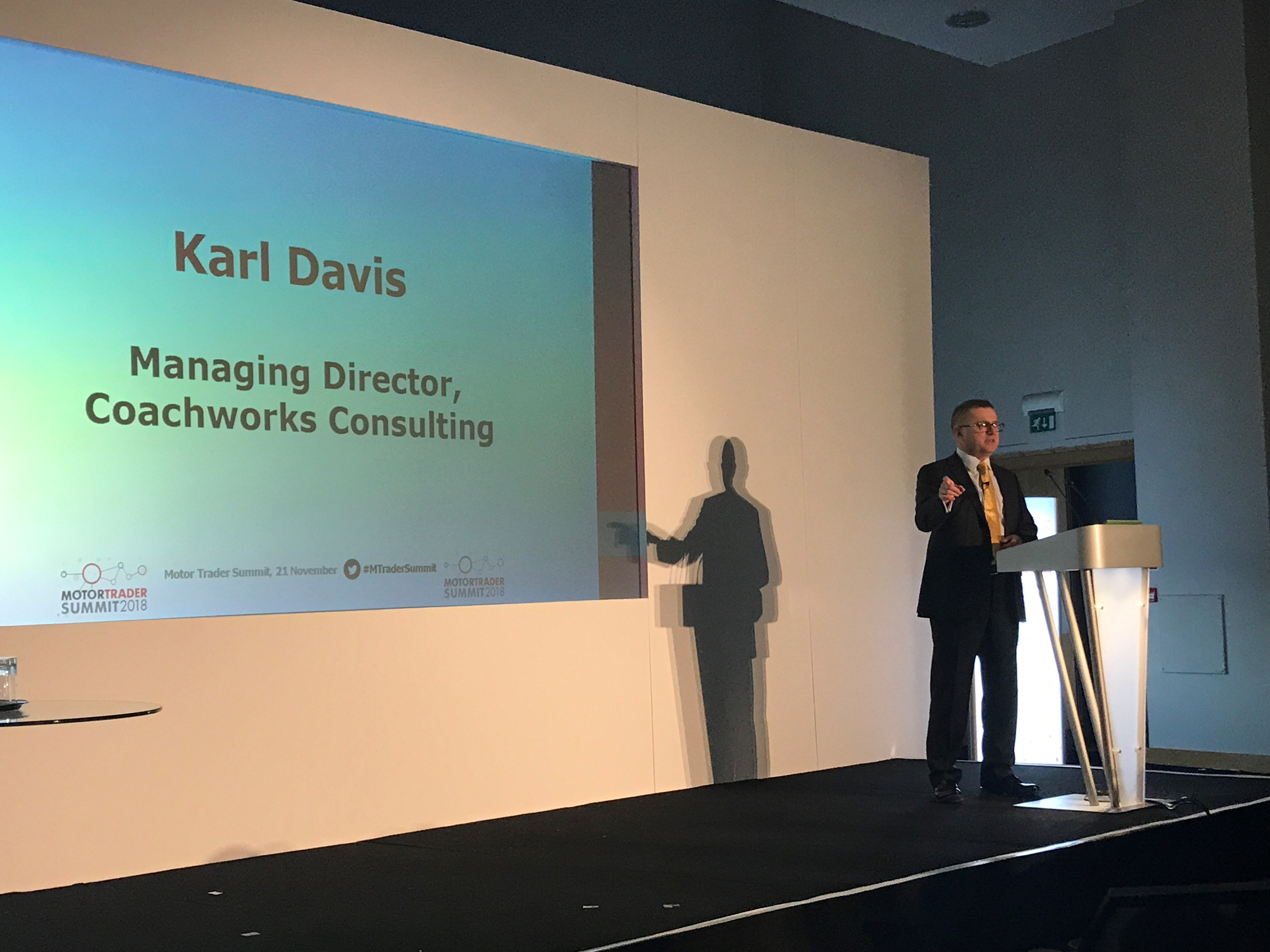 Managing Director Karl Davis talks about his recent speaking engagement at the Motor Trade Summit 2018